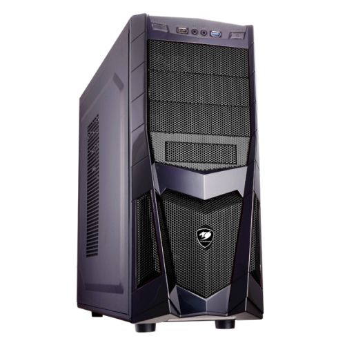 Cougar Volant 2 Gaming Case, ATX, up to 8 Fans, 320mm GX Cards, Black